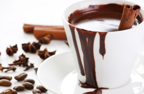 Горячий шоколад с коррицей