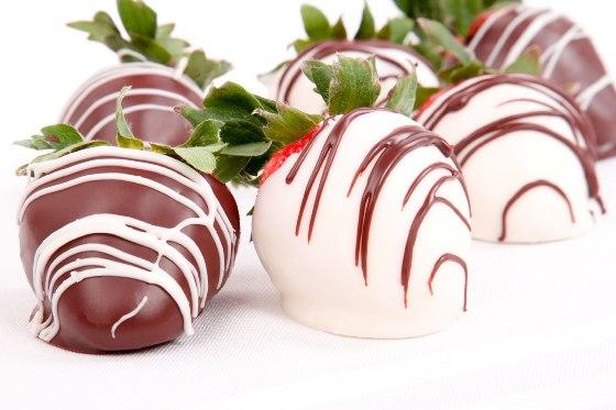 Клубника в белом шоколаде
